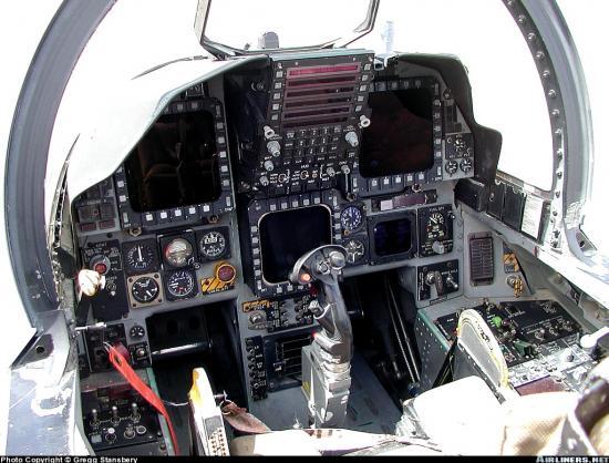 Go Back > Galle... F 15 Cockpit